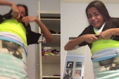 """Le challenge """"100 layers of clothes"""" tourne mal"""