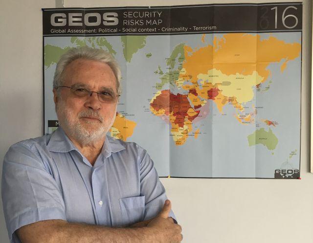 Louis Caprioli, conseiller du groupe Géos et ancien patron de la DST