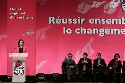 Débat des primaires socialiste 2006 avec Ségolène Royal