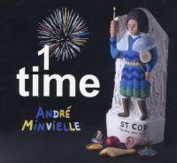 """André Minvielle """"1 Time"""", Saravah"""