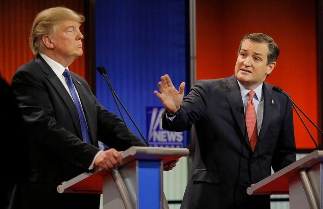 USA 2016 : Ted Cruz s'oppose à Donald Trump lors de la primaire républicaine en février 2016, avant de se rallier à l'homme d'affaires