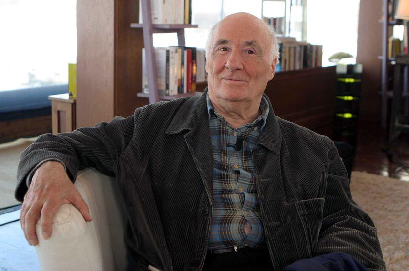 Jacques Roubaud à Paris, en 2008