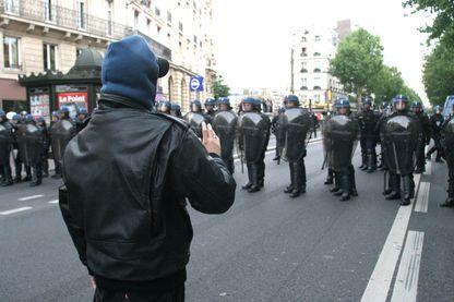Manifestation anti-Sarkozy de mai 2007