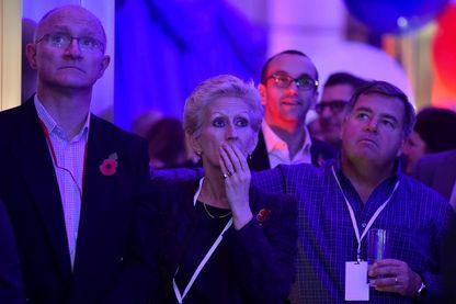 Réactions à Londres alors qu'on annonce que Donald Trump est élu 45e président des États-Unis