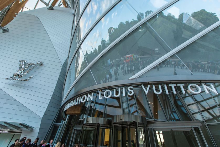 La Fondation Louis Vuitton à Paris en 2014