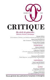 Critique n°826
