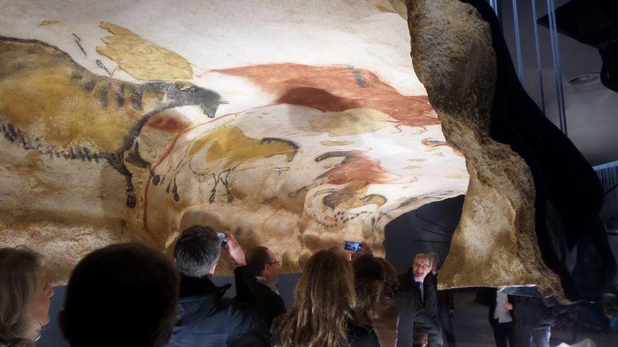 L'atelier de Lascaux permettra de mieux appréhender et comprendre les peintures, reproduites à l'identique.