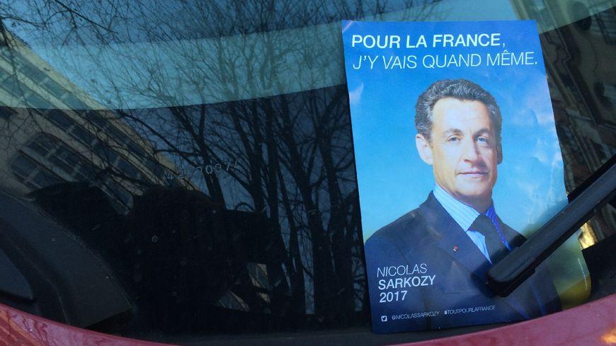 Le faux tract de Nicolas Sarkozy