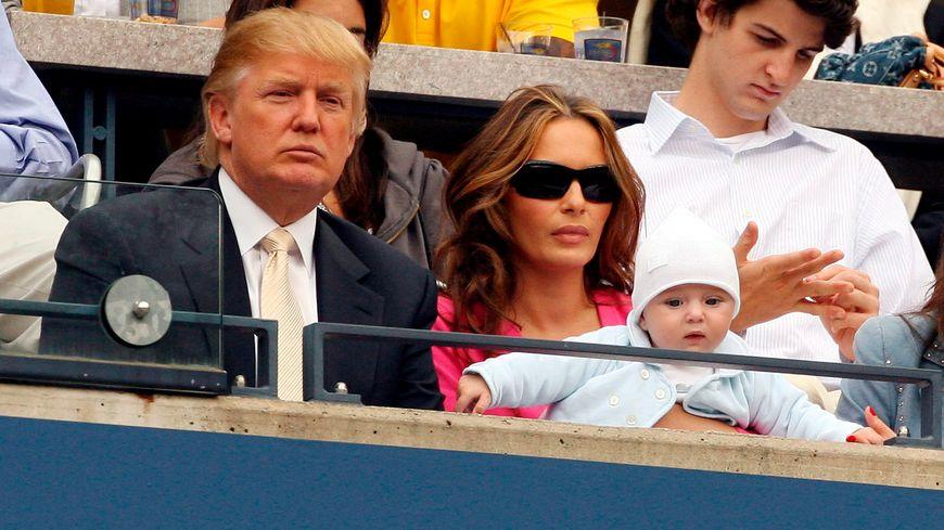 Donald Trump et son épouse Melania, devenue citoyenne américaine en 2006