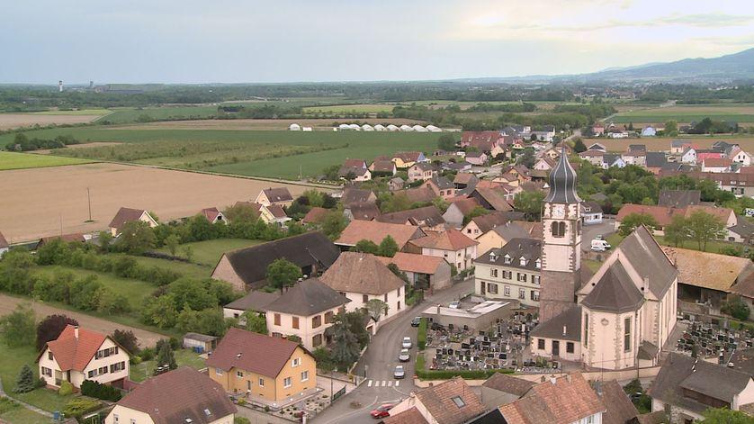 Le village alsacien d'Ungersheim