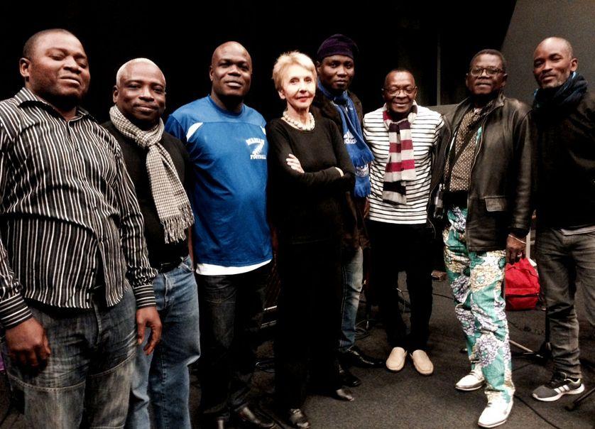 Le tout puissant orchestre Polyrythmo de Cotonou et Agathe Gaillard
