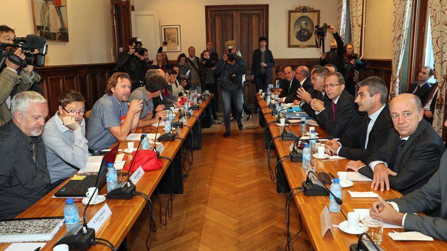 Comme le 4 octobre dernier, syndicats, direction, Etat et élus locaux se retrouveront autour de la table ce lundi à Bercy.
