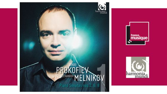 Alexander Melnikov interprète Sergueï Prokofiev - Piano Sonatas numéros 2, 6 & 8