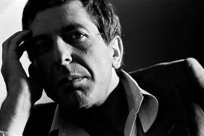 Leonard Cohen en 1975