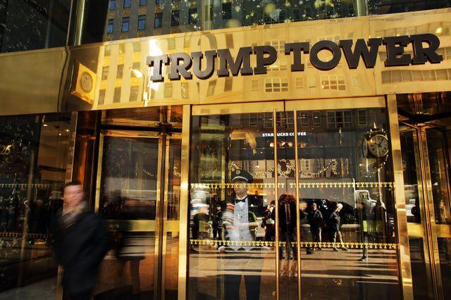 USA 2016 : l'incontournable Trump tower toute en dorures sur la 5ème avenue de New York