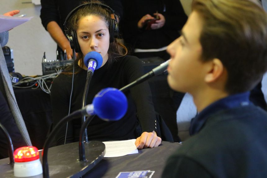 Lamia et Jules sont élèves en seconde section sportifs au lycée Voltaire d'Orléans