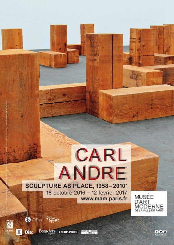 """""""Carl Andre - Sculpture as place, 1958-2010"""""""