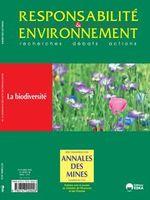 Annales des Mines - Responsabilité et environnement 2012/4 (N° 68) La biodiversité