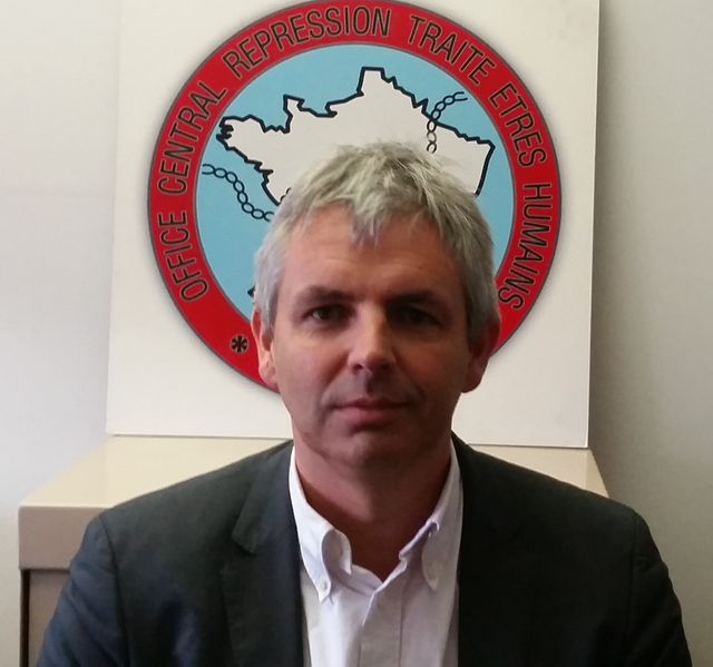 Jean-Marc Droguet, directeur de l'office central pour la répression de la traite des êtres humains (OCRETH)