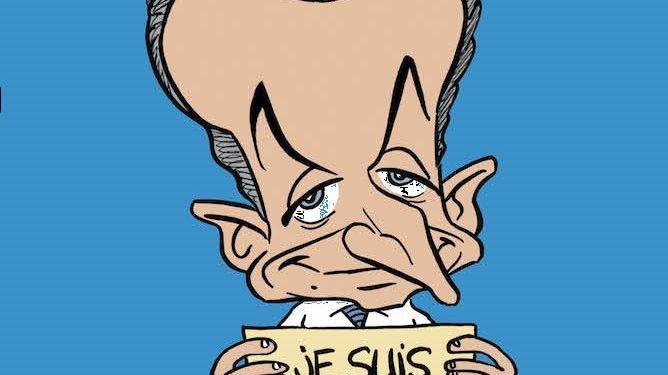 Nicolas Sarkozy à la Une de Sarko Hebdo