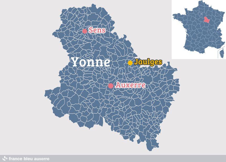 Jaulges, dans l'Yonne
