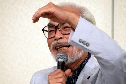 Le réalisateur japonais Hayao Miyazaki
