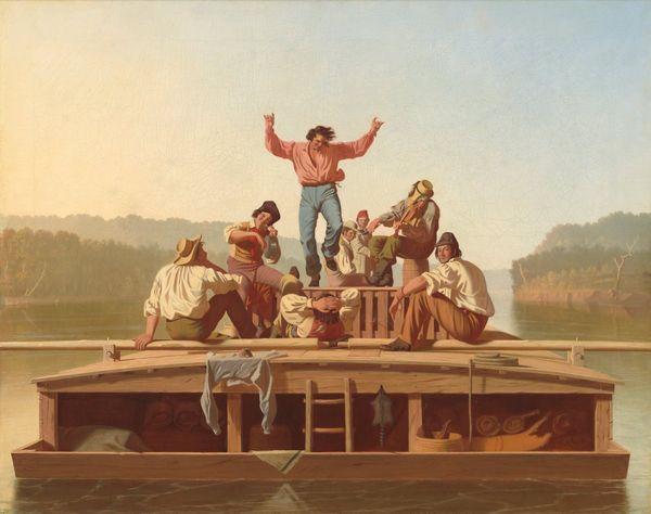 The Jolly Flatboatmen (1846)