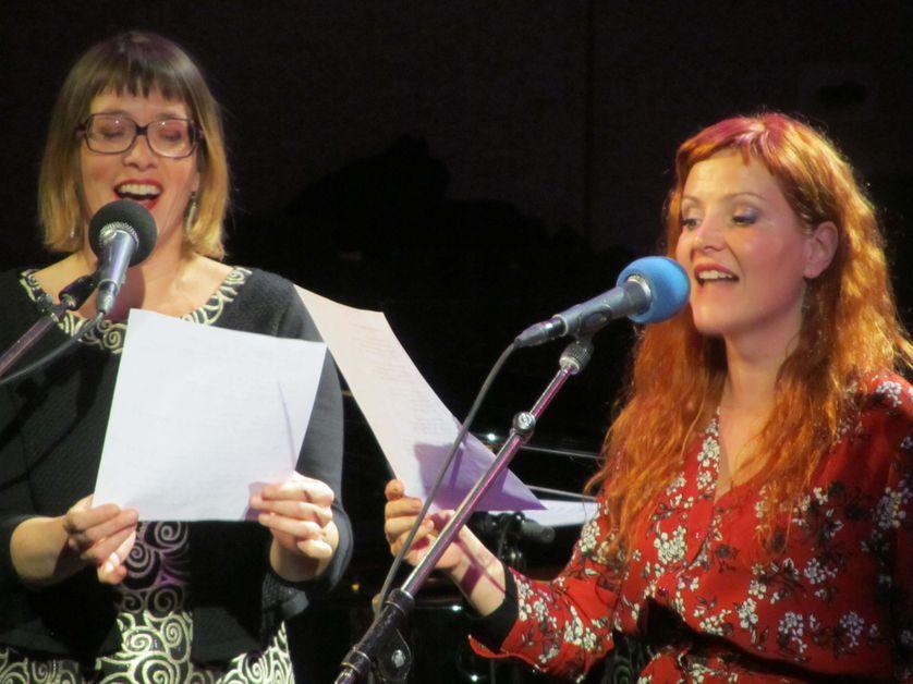 Gabrielle Godart et Jehanne Carillon