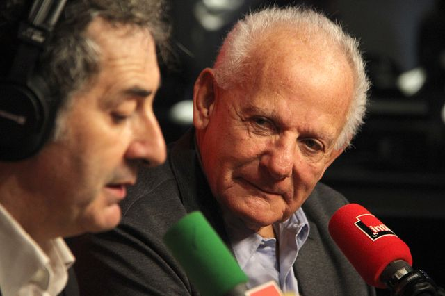 François Morel et Marin Karmitz