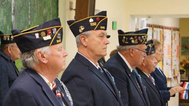 L'hommage rendu aux vétérans à Niles