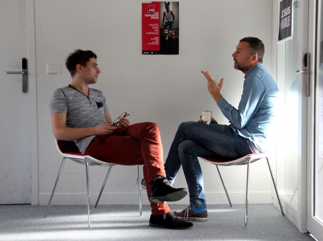 Axel Villard et Mathieu Vidard