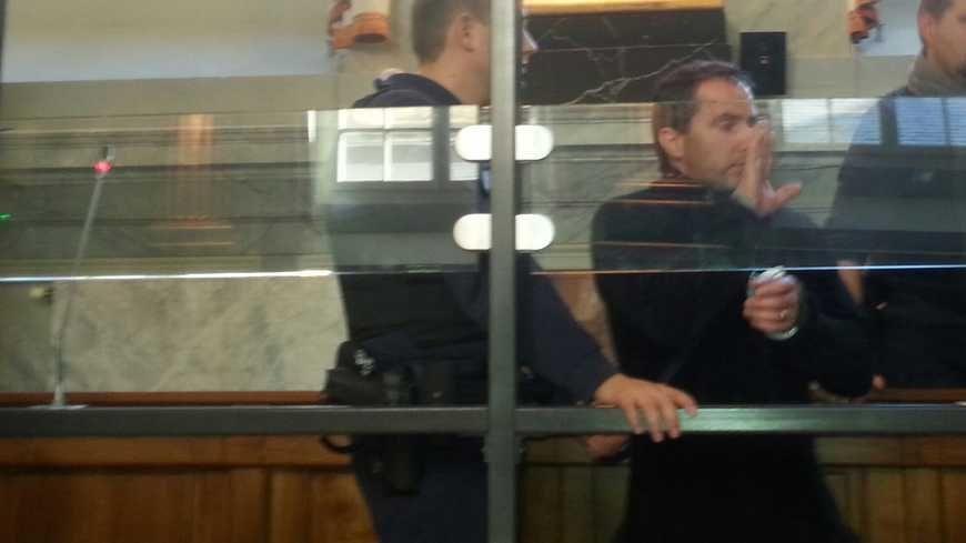 Daniel Trey lors du premier procès à Pau