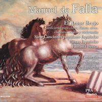 El amor brujo : El circulo magico (Romance de la pescador) - pour mezzo-soprano et orchestre