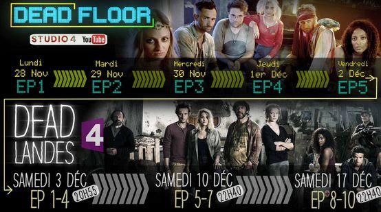 Dead Landes et Dead Floor - le calendrier