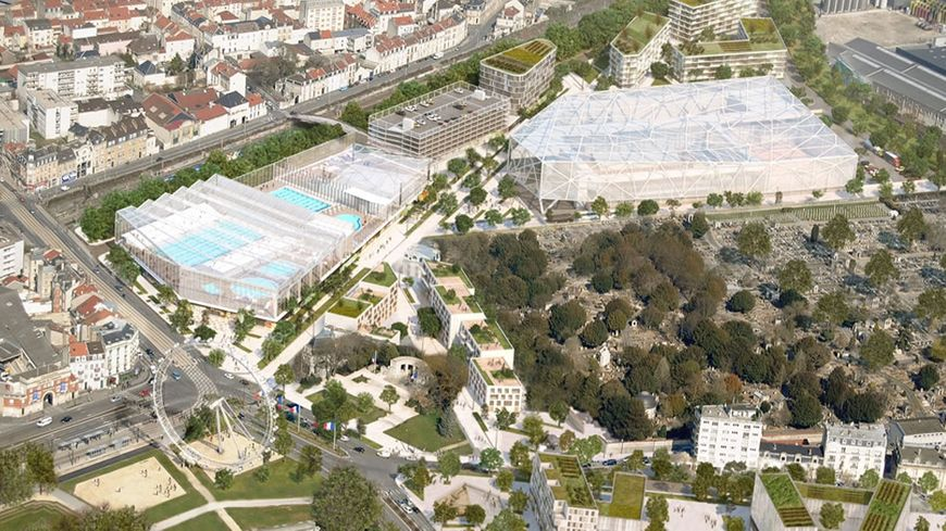 Reims un accord trouv pour sauver le projet aqualudique sur le site du sernam - Piscine reims ...