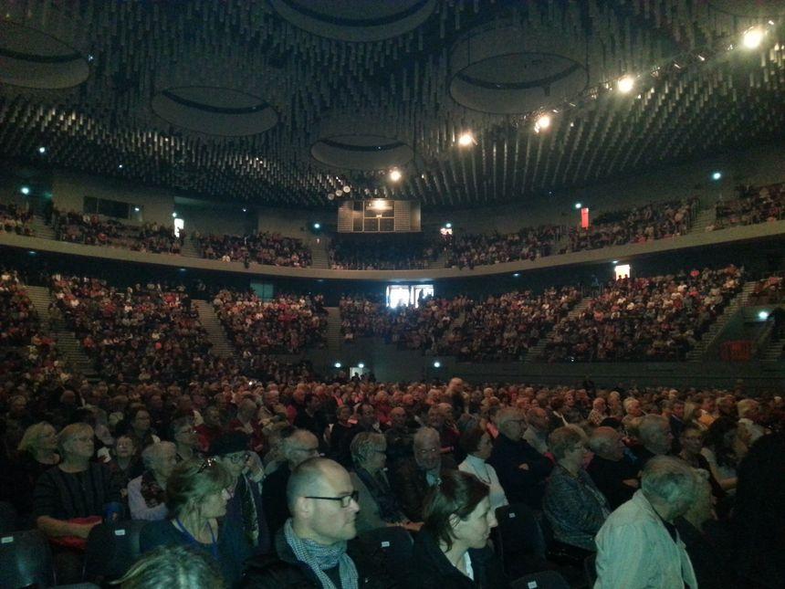 L'Arena était pleine à craquer pour la finale des Tréteaux Chantants