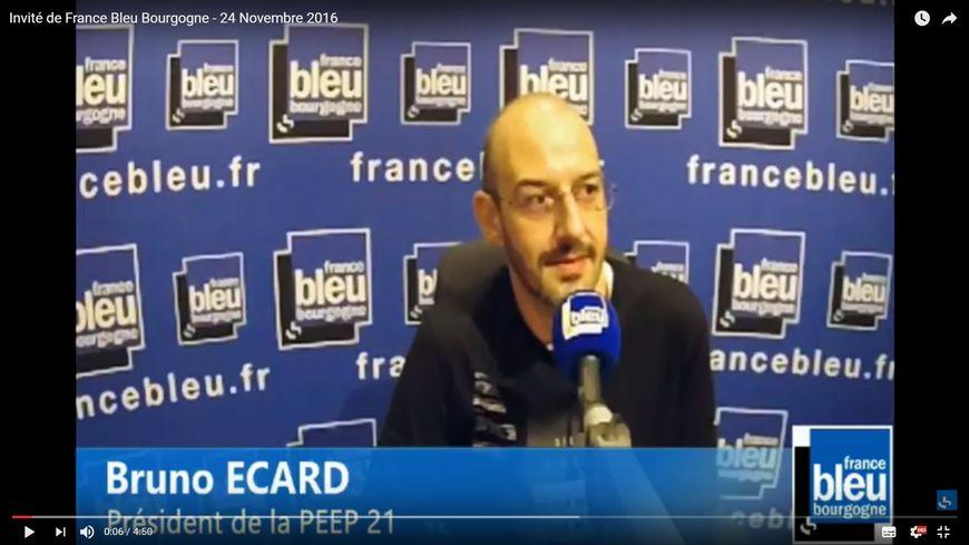 Bruno Ecard, le président de la PEEP 21, fédération des parents de l'enseignement public de Côte-d'Or