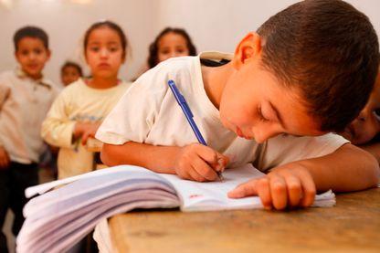 Ecole primaire au Maroc