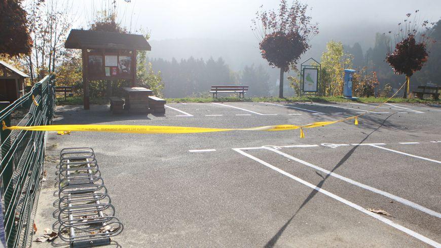 C'est sur ce parking qu'a lieu l'agression le 28 octobre 2016.