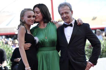 Lily-Rose Depp, Rebecca Zlotowski et Emmanuel Salinger, Festival de Venise 2016