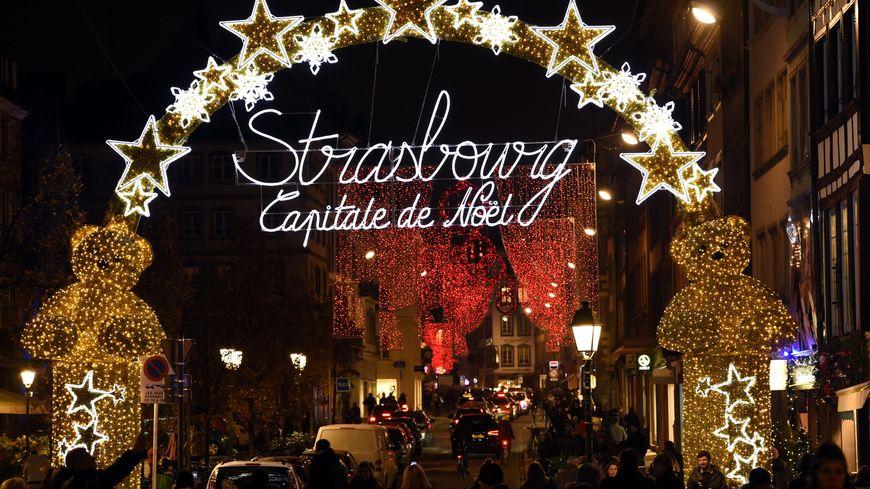 marché de noel strasbourg 2018 maintenu Le marché de Noël de Strasbourg maintenu, au prix de mesures de  marché de noel strasbourg 2018 maintenu