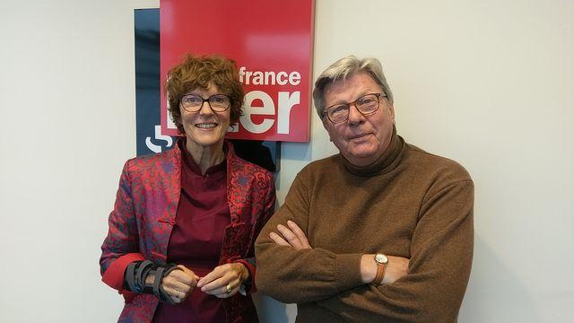 Noëlle Bréham et Cyrille Javary