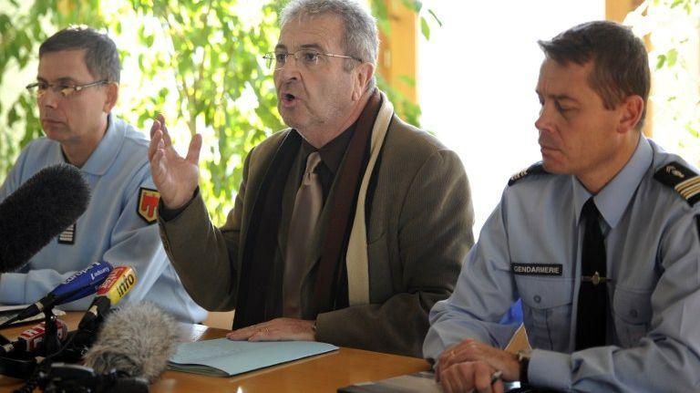 René Pagis, ancien procureur de la République du Puy-en-Velay - Photo de 2011