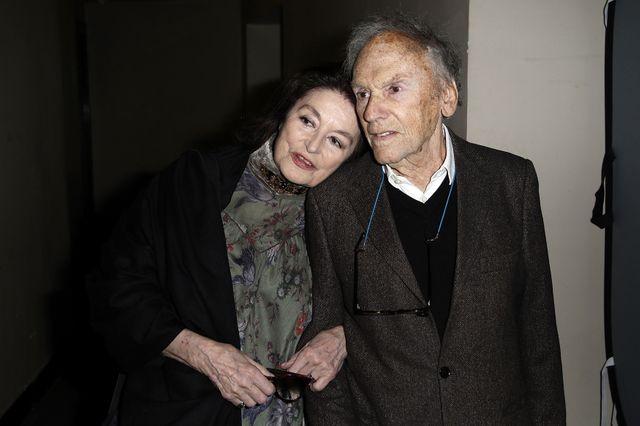 Anouk Aimée et Jean-Louis Trintignant lors de la projection de la version restaurée du film