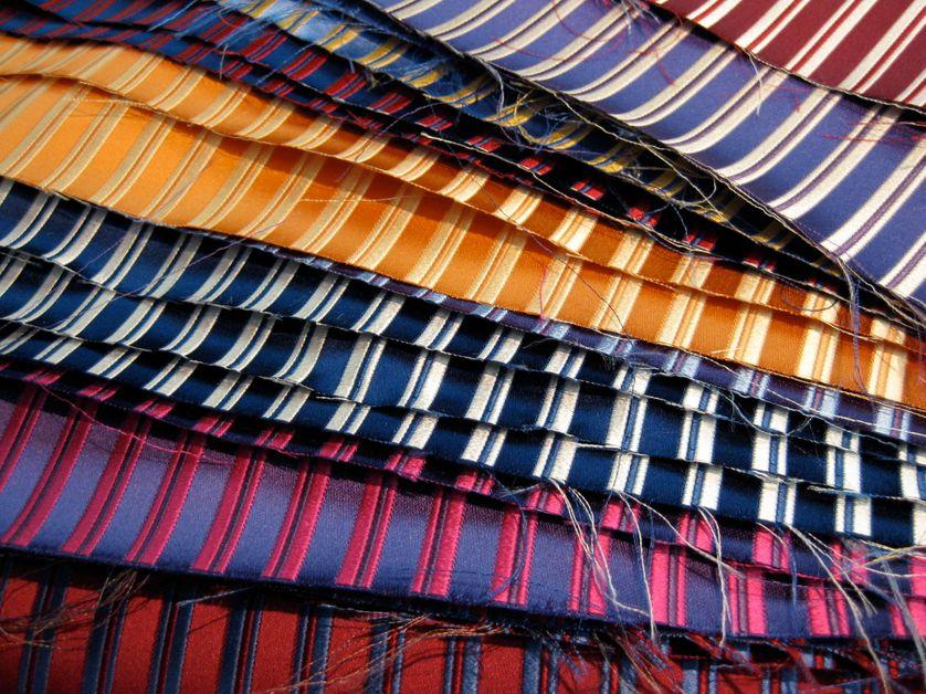 Tissus de cravates Charvet