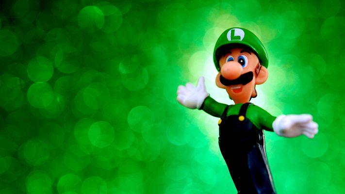 Super Blast Luigi