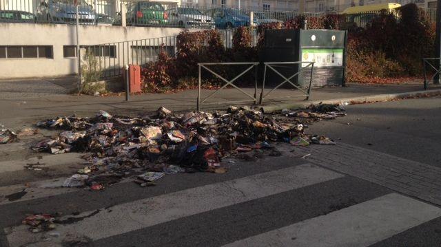 Le quartier Villejean de Rennes ce matin après les échauffourées