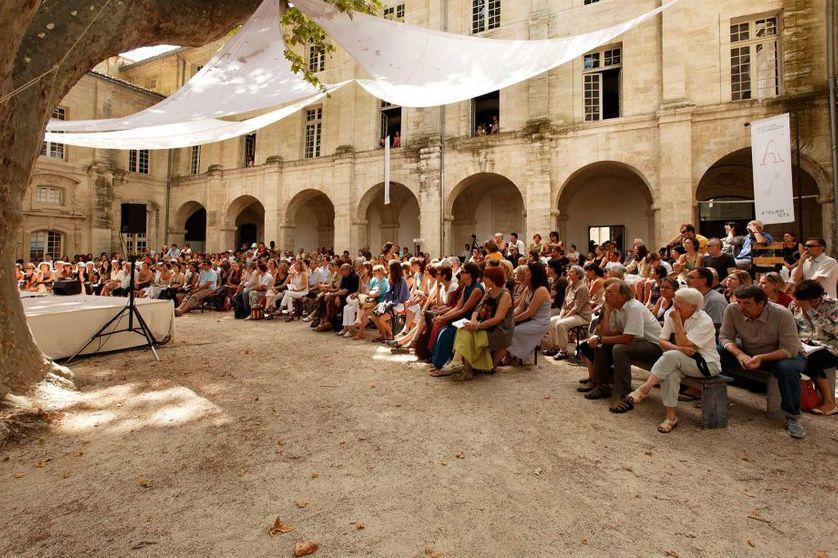 Cloître st Louis au Festival d'Avignon été 2016