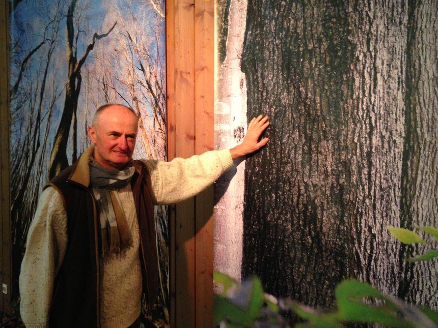 Patrick Pierry, président de l'association mémoire de Bonnevaux, qui compte 80 adhérents