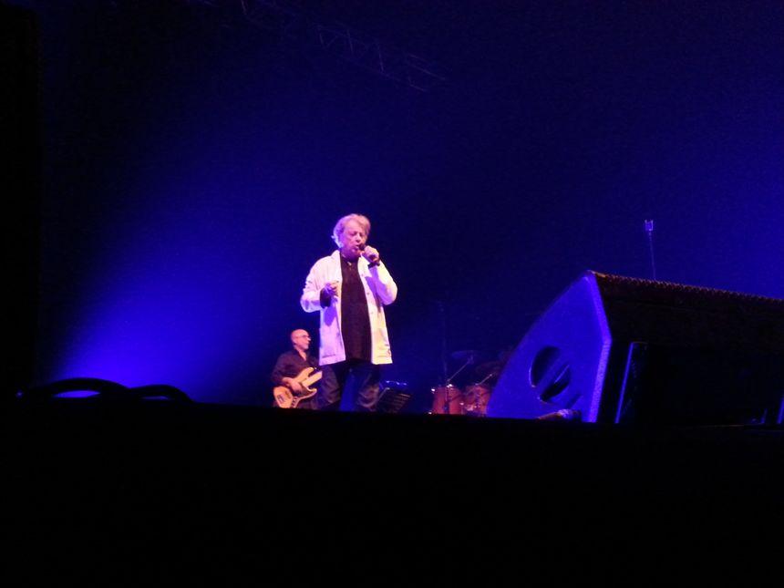 Hervé Villard a pris la suite de Michel Delpech, Yves Duteil ou encore Sheila, pour la deuxième partie des Tréteaux Chantants
